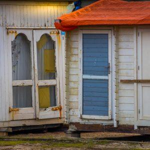 Strandhuisjes bij Westerslag