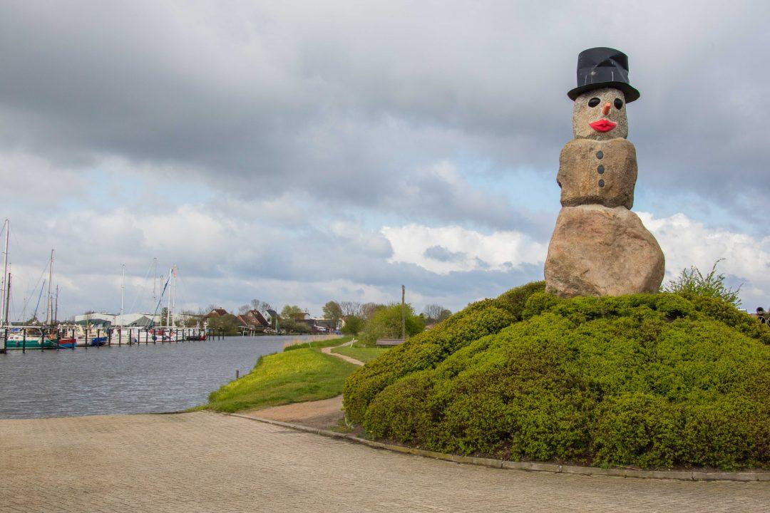 De sneeuwman van Varel