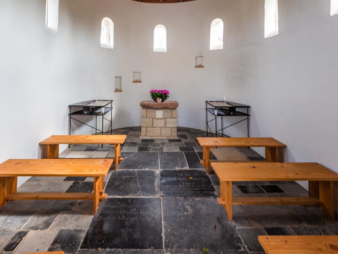 Interieur Heidense Kapel