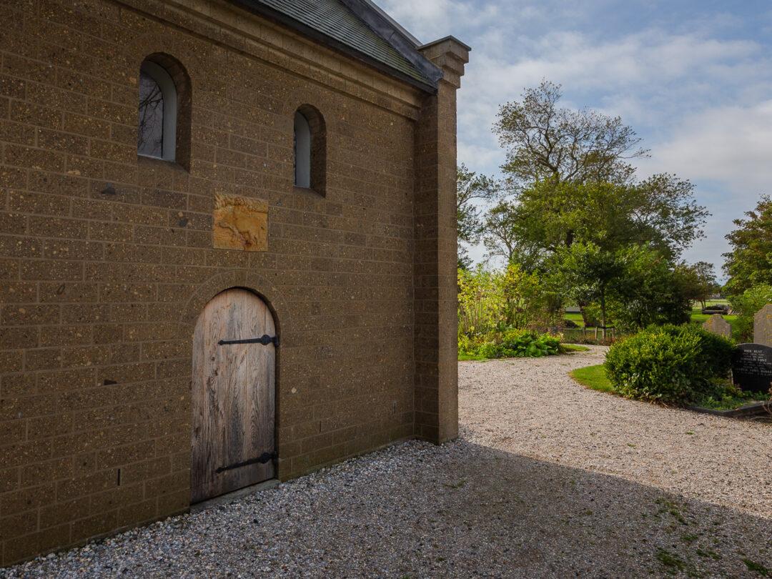 Het Noormannendeurtje van de Heidense Kapel.